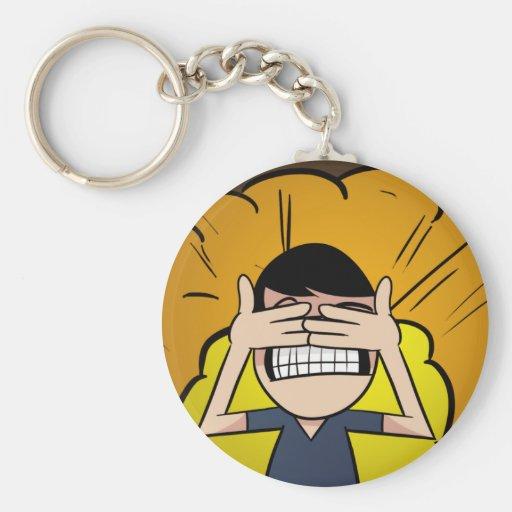 Believe it when I see it Basic Round Button Keychain