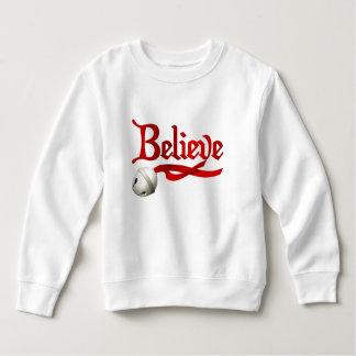 Believe Jingle Bell Sweatshirt
