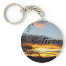 Believe Key Chain