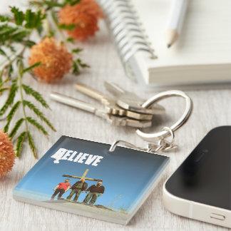 Believe-Keychain Keychain