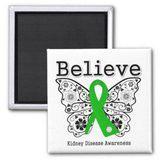 Believe Kidney Disease Awareness Magnets