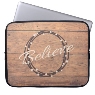 Believe Laptop Sleeve