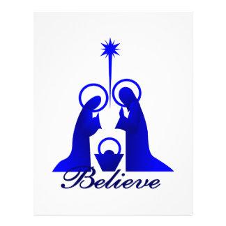 Believe Letterhead