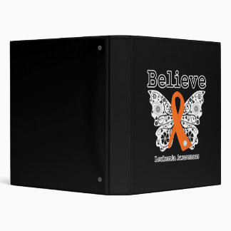 Believe - Leukemia Butterfly Binders