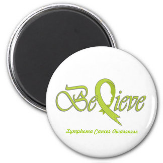 "Believe ""lime - Gift Items"" 2 Inch Round Magnet"