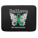Believe - Liver Cancer Butterfly MacBook Pro Sleeve