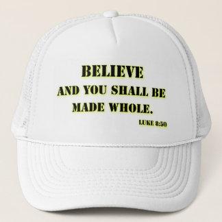 Believe, Luke 8:50 Trucker Hat