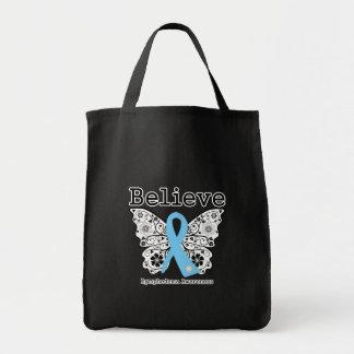 Believe Lymphedema Awareness Bags