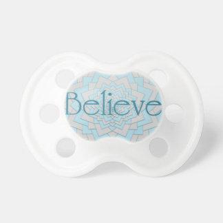 Believe Mandala Pacifier