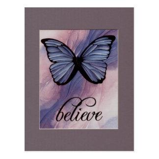 Believe  Mark 9:23 Postcard