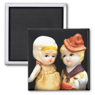 Believe Me When I Say I Only Have Eyes For You 2 Inch Square Magnet