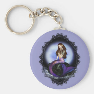 Believe Mermaid Key Chain