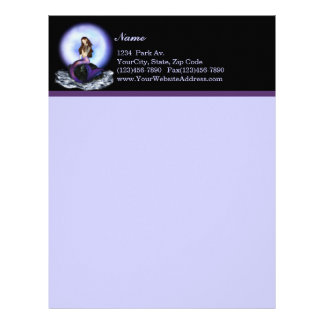 Believe Mermaid Letterhead