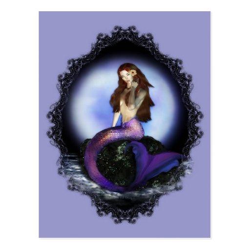 Believe Mermaid Post Cards