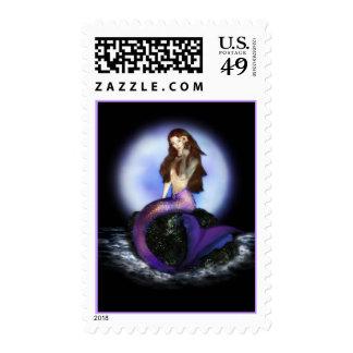 Believe Mermaid Stamps