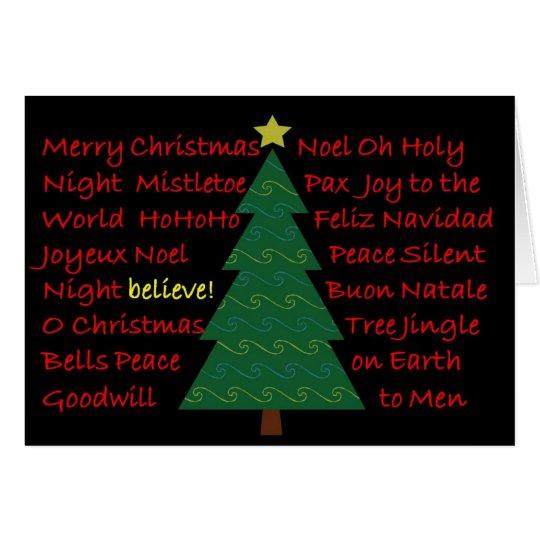 believe! Merry Christmas Card