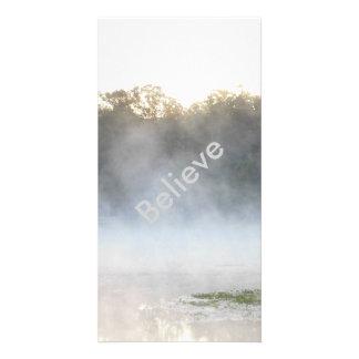 Believe Morning Lake Mist Card
