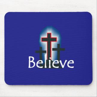 Believe Mousepad