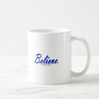 Believe Coffee Mugs