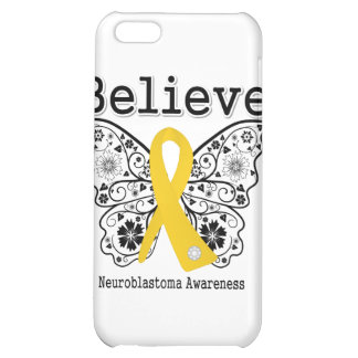Believe - Neuroblastoma Cancer Butterfly iPhone 5C Cover