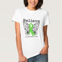 Believe - Non-Hodgkins Lymphoma  Butterfly T-shirt