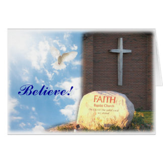 Believe! Notecards Card