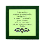 Believe Nothing-Buddha Quote Gift Boxes