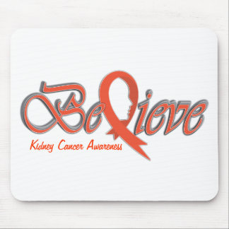 """Believe """"Orange Gift Collection """" Mouse Pad"""