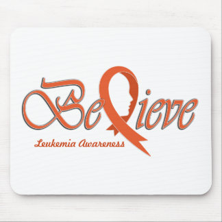 "Believe ""Orange - Gift Items"" Mouse Pad"