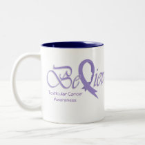 "Believe ""Orchid Mug"" Two-Tone Coffee Mug"