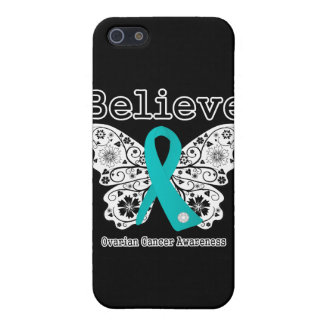 Believe - Ovarian Cancer Butterfly Cover For iPhone 5