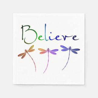 Believe Paper Napkin