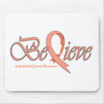 "Believe ""Peach Ribbon Accessories"" Mouse Pads"