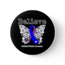 Believe Pediatric Stroke Awareness Button