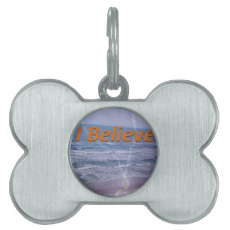 believe pet name tag