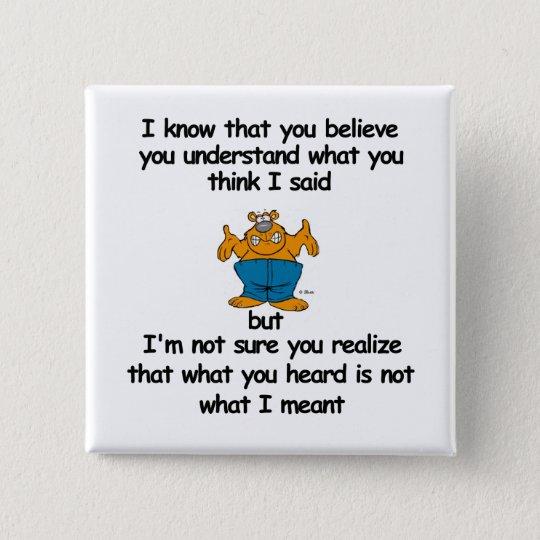 Believe Pinback Button