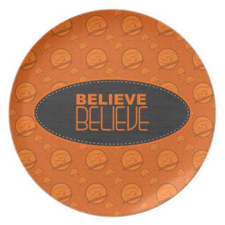 Believe Plate