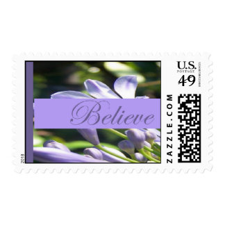 Believe Postage Stamp