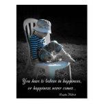 'Believe' Postcard