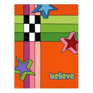 """Believe"" Postcard"