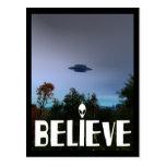 BELIEVE POSTCARDS