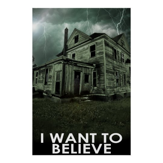 Believe Poster - Ghost Style