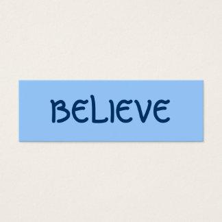 BELIEVE PROFILE CARD