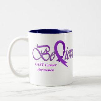 """Believe """"Purple Mug"""" Two-Tone Coffee Mug"""