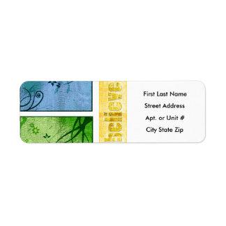 Believe Return Address Labels