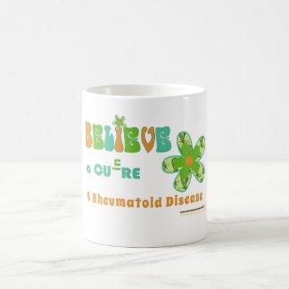 Believe: #rheum cure coffee mug