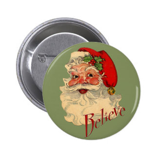 Believe Santa Button