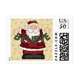 Believe Santa Postage