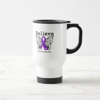 Believe Sarcoidosis Awareness Coffee Mugs