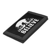 Believe Sasquatch Trifold Wallet